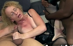 Mature Begs For Creampies