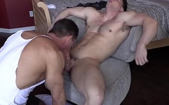 Old Daddy Loves Young Straight College Jock
