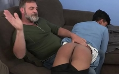 Latin Twink Gets Rammed on Sofa