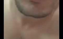 Turkish cute man jerk off again