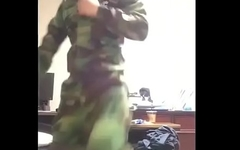 Korean soldier cum