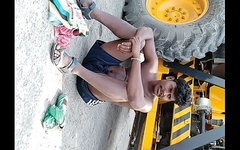 Indian Man Relaxing in Sunlight