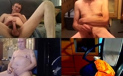 micropenis with three men in skype