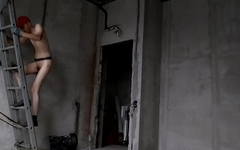 LanaTuls - Dirty Electrician Working Nude in the Bulding House