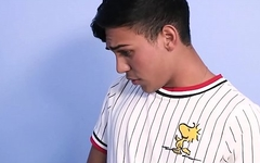 Two Interracial Twink Step Brothers Caught By Step Dad Who Joins In For Threesome
