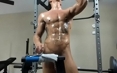 naked gym man