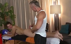 Daddy massage boy