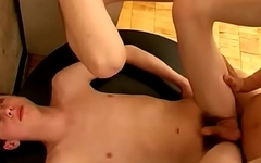 sweet teen boys in threesome orgy